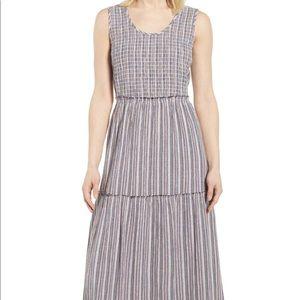 Caslon - Tiered smocked maxi dress